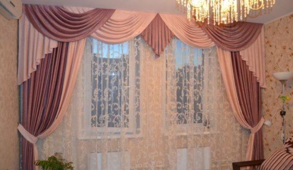 шторы в зал новинки