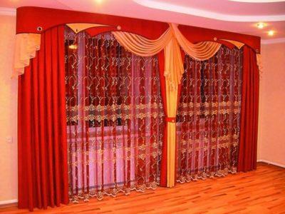 модные шторы в зал