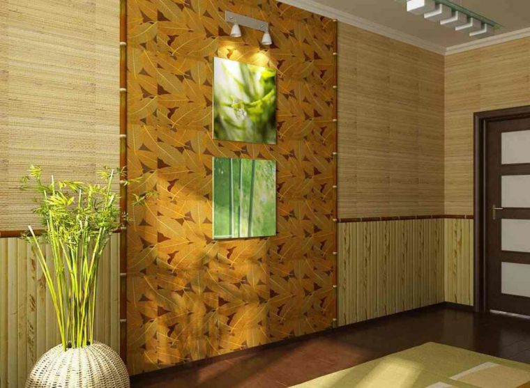 Бамбук в интерьере: современные решения и лучшие варианты применения природных материалов (100 фото)