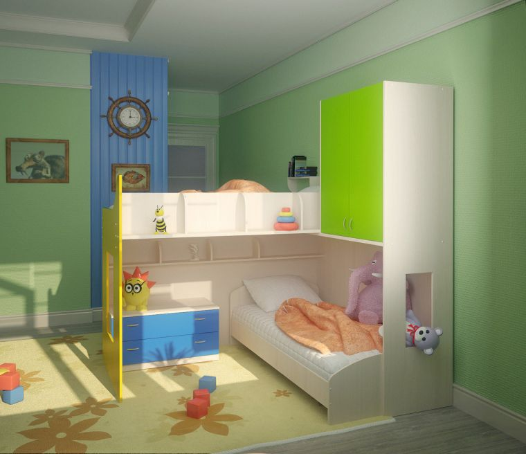 Детская комната для двух детей - идеи дизайна, правила оформления и зонирования комнаты (100 фото)