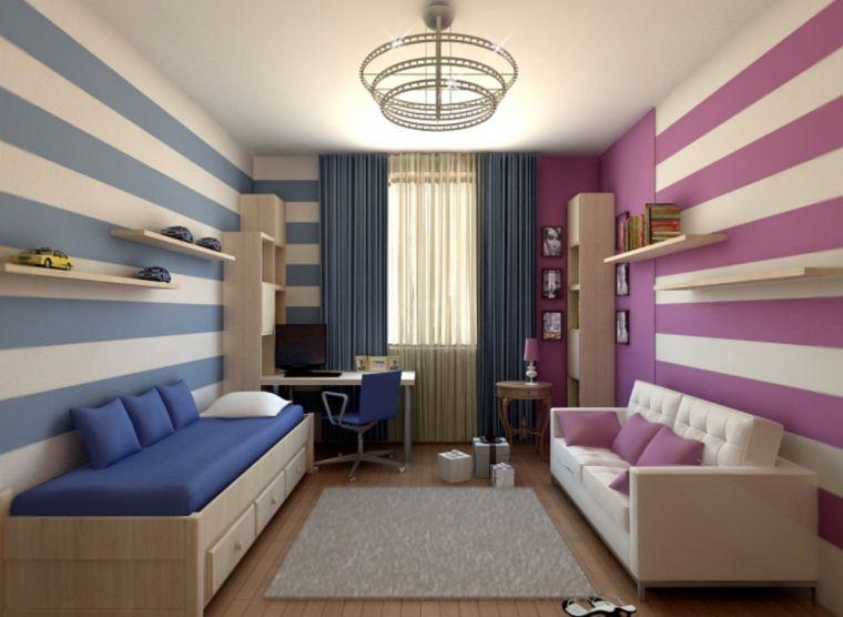 Детская комната для разнополых детей - 90 фото идей зонирования и применения современных сочетаний для двух детей