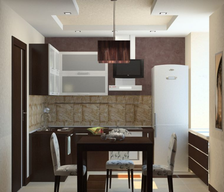 Дизайн кухни 2021 года - модные тенденции и актуальные варианты оформления кухни и столовой (95 фото)