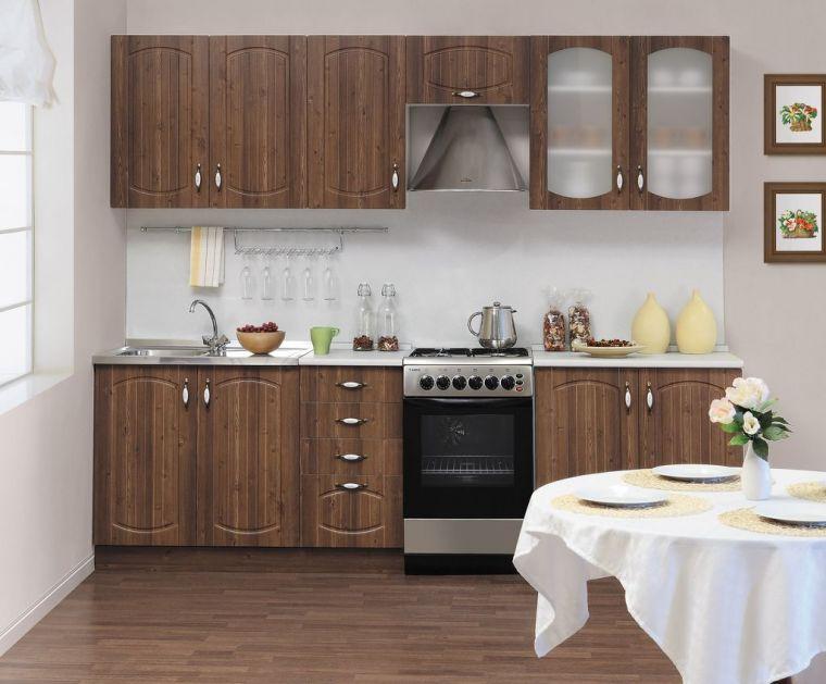 Фасады кухни: лучшие варианты оформления кухни и необычные новинки кухонной мебели (100 фото)