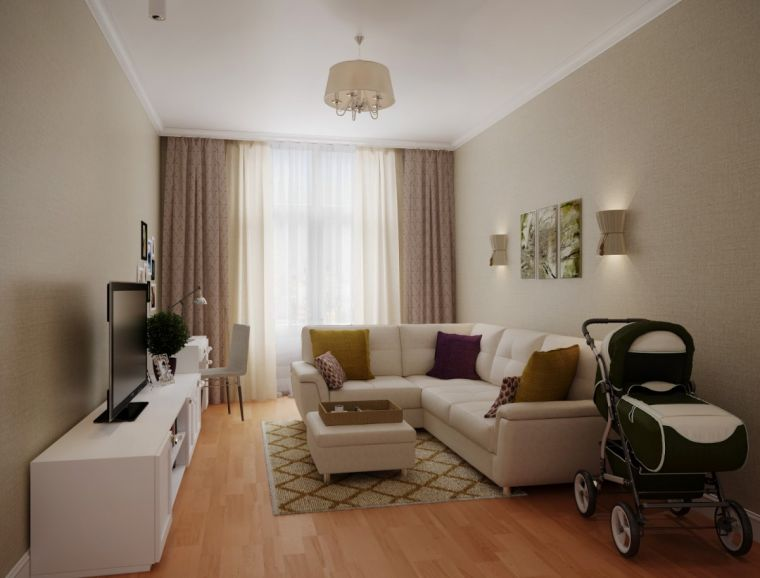 Гостиная 20 кв. м - зонирование, расположение элементов интерьера и современные идеи применения красивых украшений (115 фото)