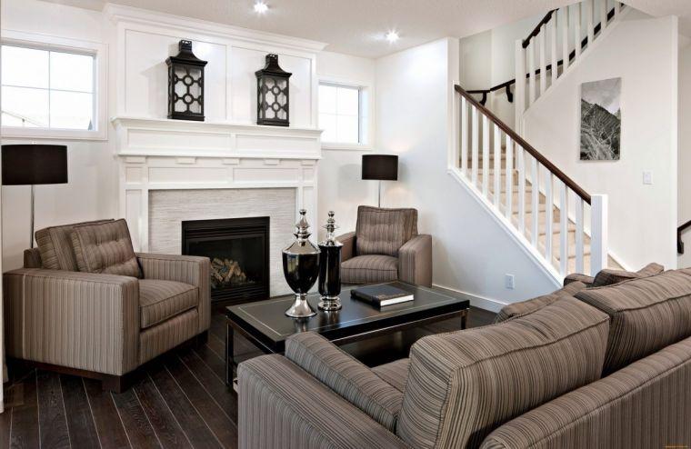 Гостиная с лестницей - плюсы, минусы и особенности реализации интерьера с лестницей (110 фото)