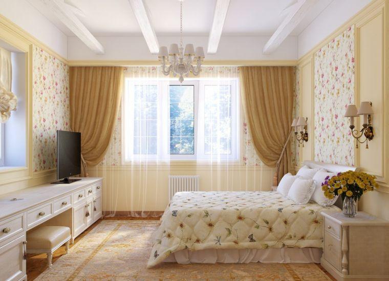 Идеи для спальни - примеры стильного оформления интерьера и красивых элементов украшения спальни (135 фото)