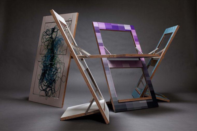 Изготовление складного стула - пошаговое описание и мастер-класс создания своими руками складного стула (75 фото)