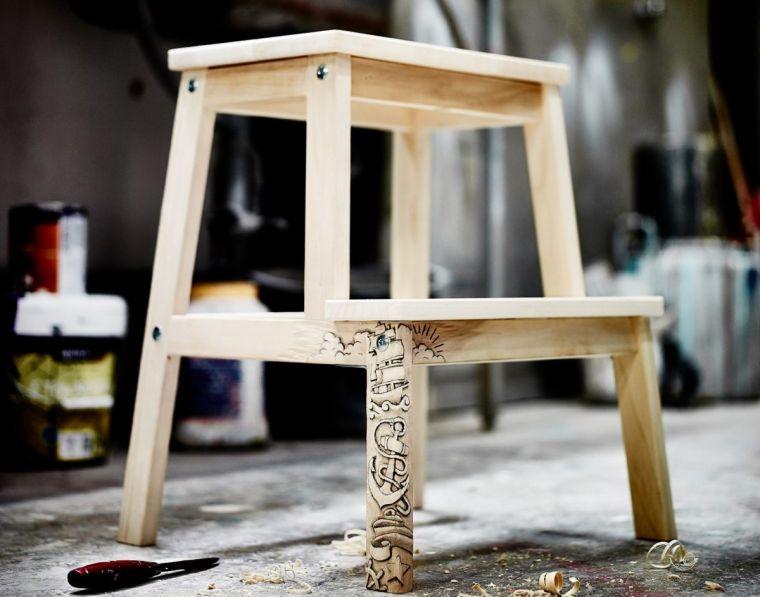 Изготовление табуретки своими руками - как сделать стильную табуретку. 75 фото простых идей и их реализации