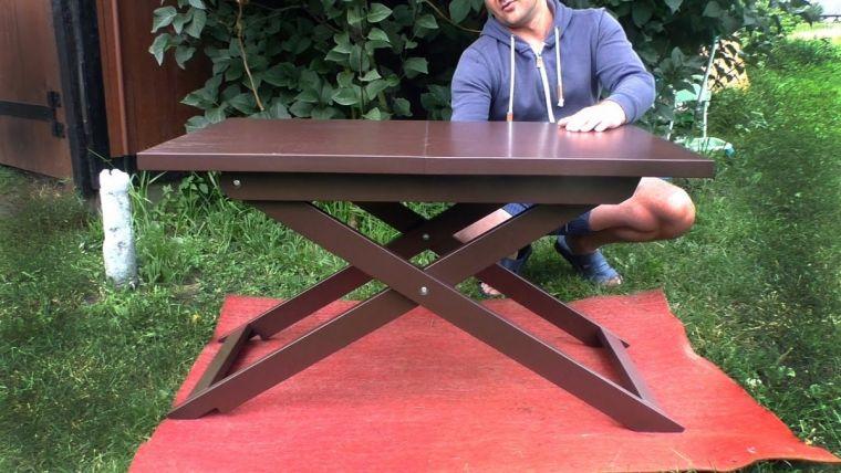 Как сделать складной стол - 120 фото идей как изготовить своими руками компактный стол
