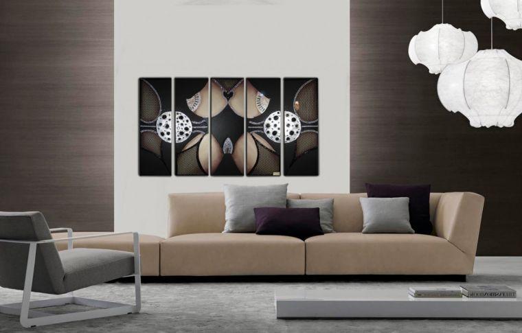 Картины для интерьера - 120 фото идей оформления интерьера при помощи картин, фото и инсталляций