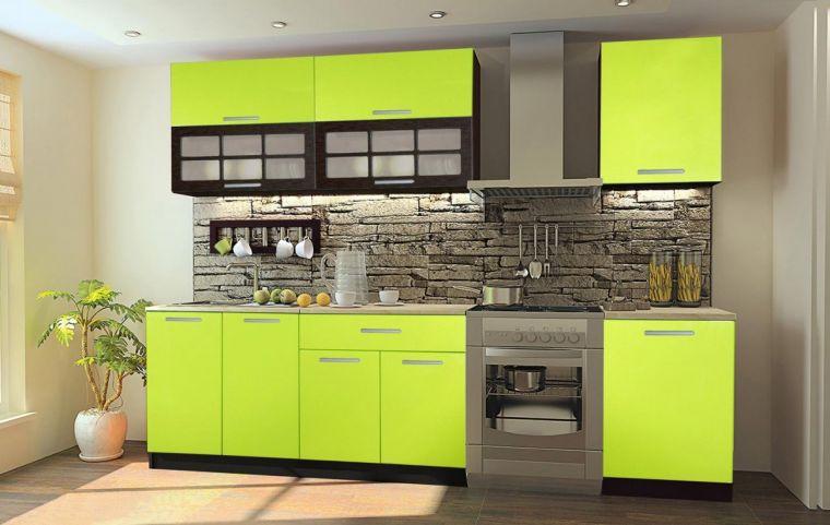 Комбинированные кухни - 145 фото реальных примеров современного интерьера кухни
