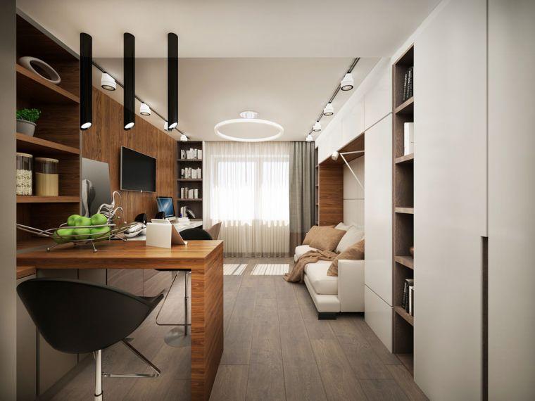 Комната 20 кв. м: зонирование просторных комнат и реальные фото стильного интерьера (145 фото и видео)