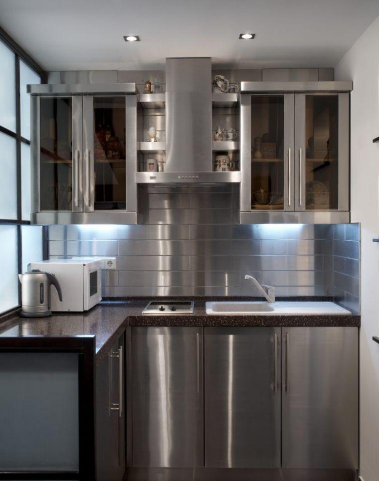 Кухня 6 кв. м - 110 фото актуальных интерьеров для маленьких помещений и идеи по созданию уютных кухонь