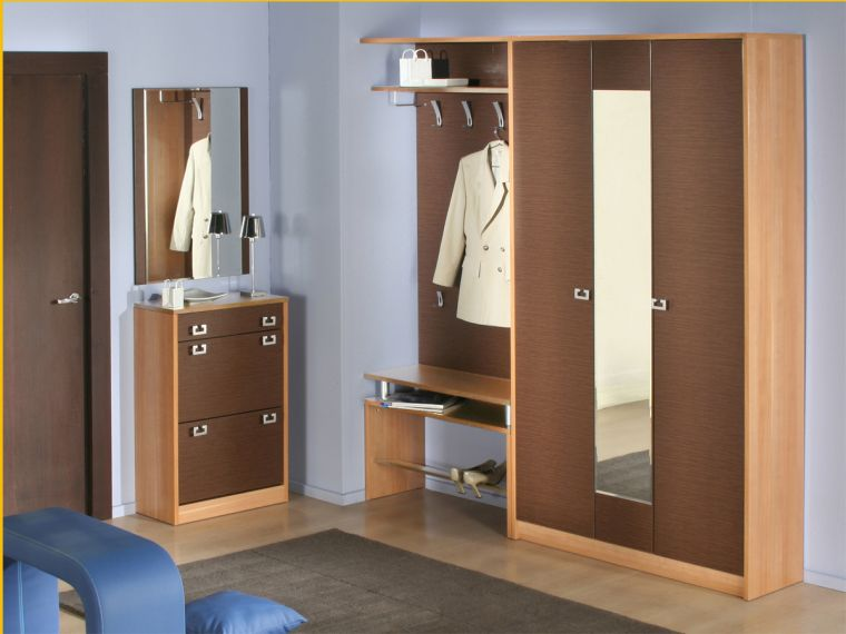 Мебель для прихожей - обзор лучших вариантов оформления интерьера и актуальных сочетаний мебели (95 фото)