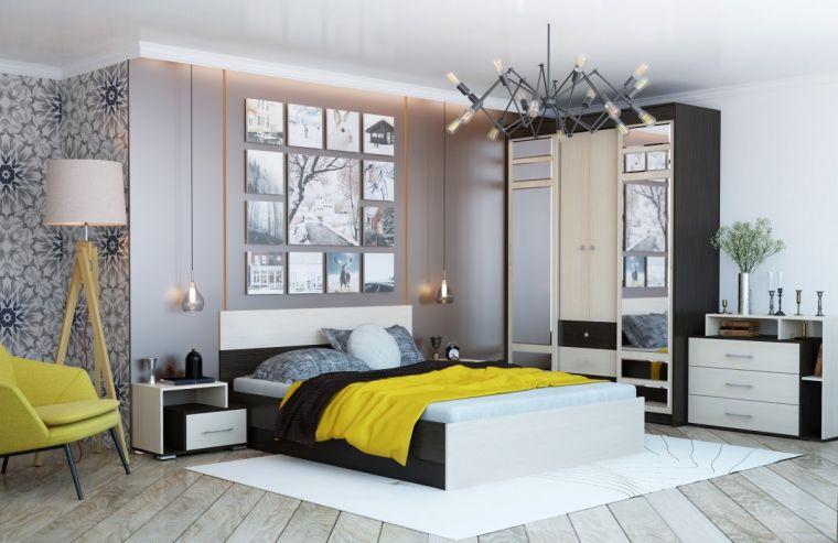 Модульные спальни - готовые решения в классическом и современном стиле. 120 фото практичных идей и решений