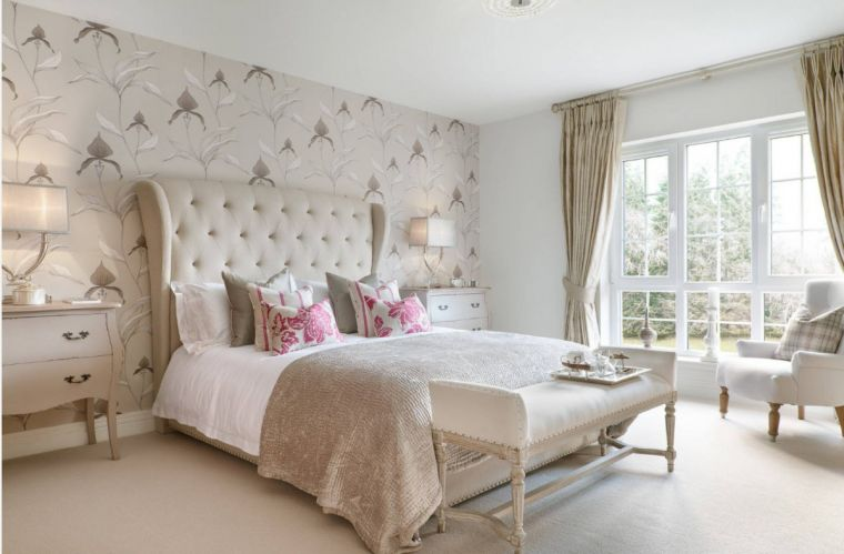 Недорогие спальни - современные красивые идеи создания недорогих спальных комнат (105 фото)