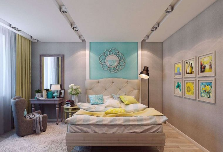 Оформление спальни - 145 фото современного интерьера и идеи самых красивых сочетаний