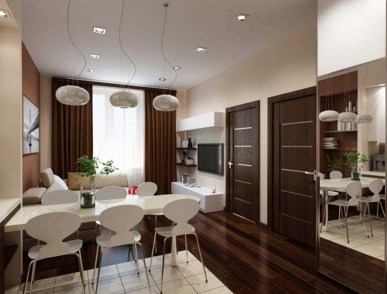 Планировка двухкомнатной квартиры: особенности индивидуальной перепланировки при ремонте квартир (110 фото)