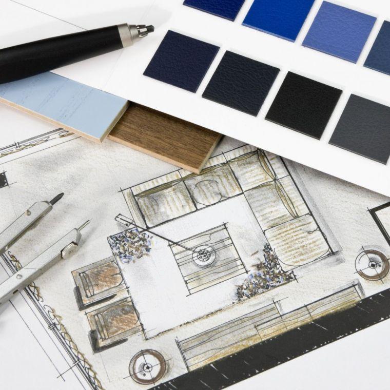 Планировка интерьера - правила и рекомендации дизайнеров как правильно и красиво оформить интерьер (80 фото)