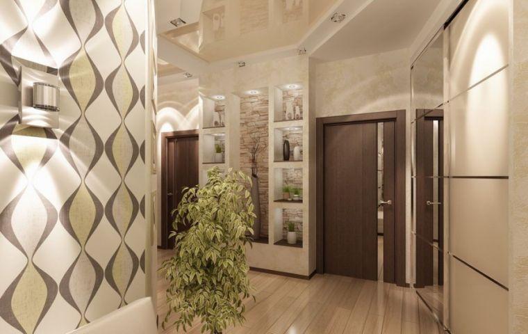 Прихожие 2021 года - свежие идеи современного оформления интерьера коридора и прихожей (140 фото)