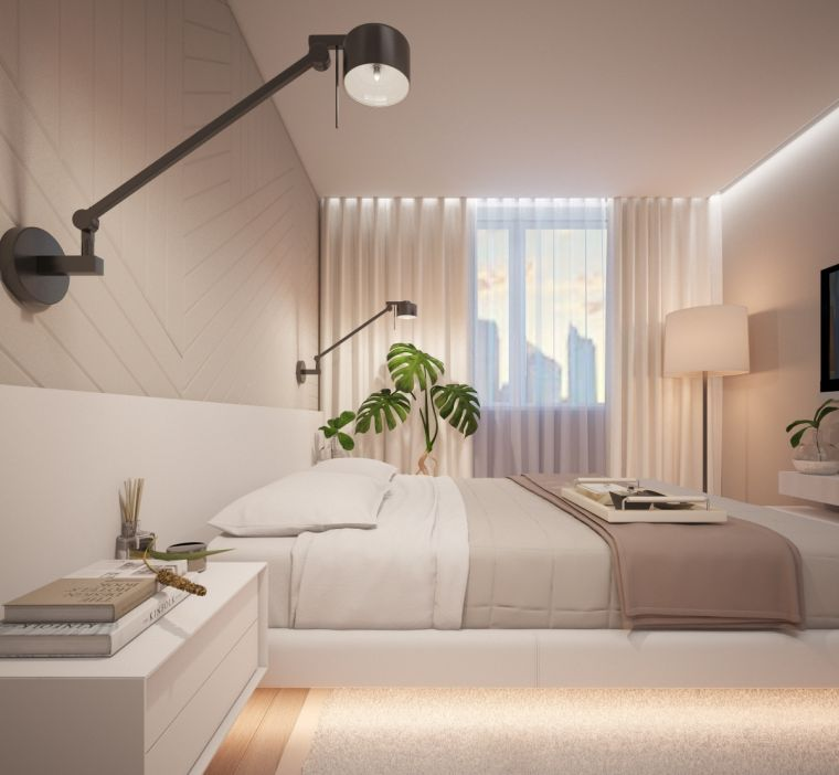 Проекты спален: пошаговый мастер-класс создания красивых вариантов оформления спальных комнат (145 фото)
