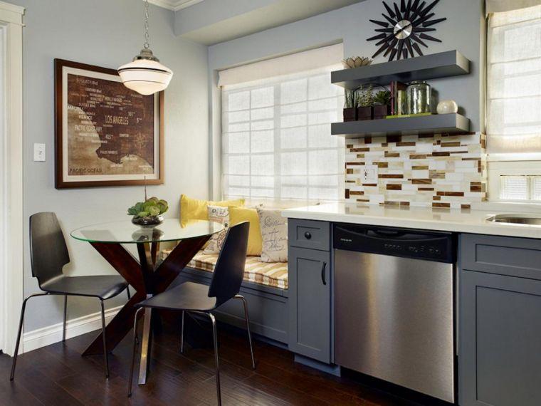 Размеры кухни: реальные фото современного оформления кухни. Идеи дизайна от лучших экспертов для больших и маленьких кухонь (105 фото)