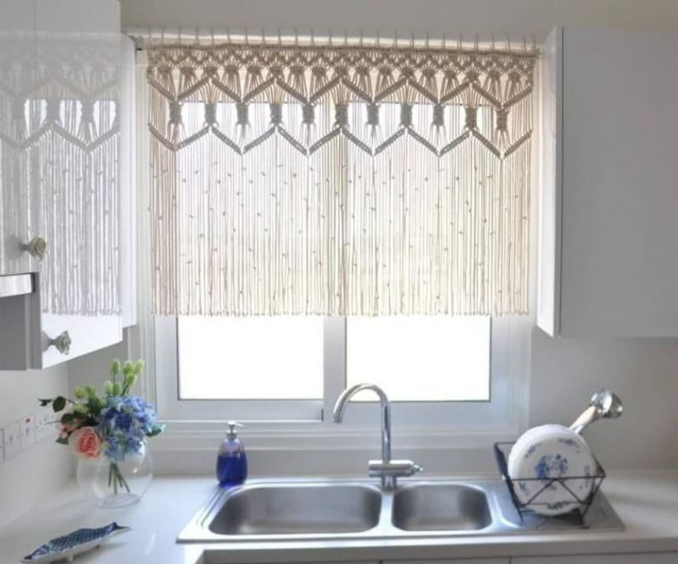 Шторы на кухню - лучшие идеи и примеры красивого оформления штор для кухни (120 фото и видео)