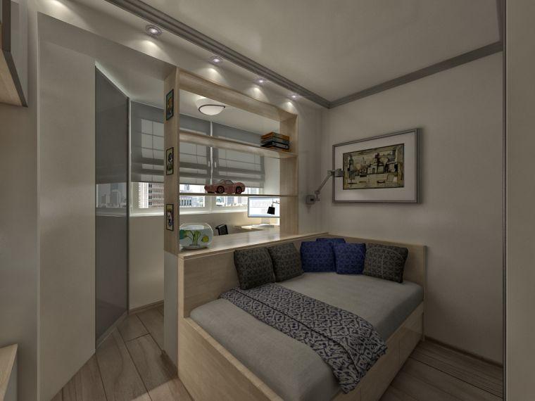 Совмещенная спальня - 85 фото лучших идей интерьера для совмещенных комнат с гостиной, кухней или балконом