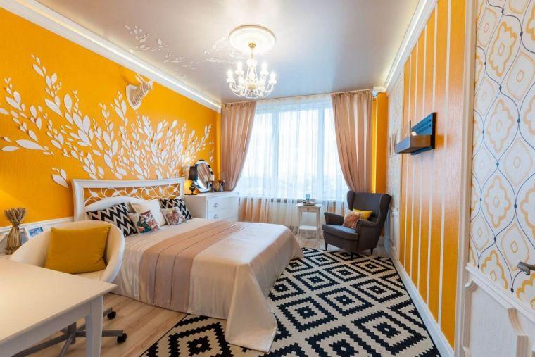 Спальня 18 кв. м - 150 фото стильных идей и современных сочетаний цвета и форм в дизайне интерьера