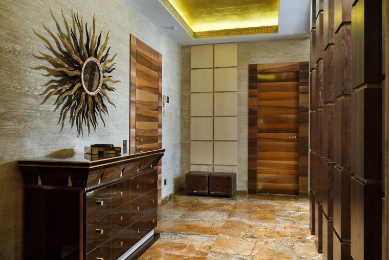 Стены в прихожей - лучшие идеи оформления современных оригинальных вариантов интерьера (115 фото)