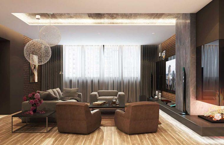 Стили гостиной: самые красивые и современные варианты украшения и оформления гостиной комнаты (110 фото)
