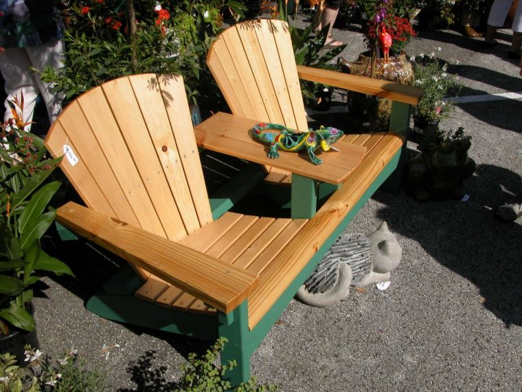 Стол-скамейка своими руками: идеи создания простых и элегантных проектов для сада и придомового участка (105 фото)