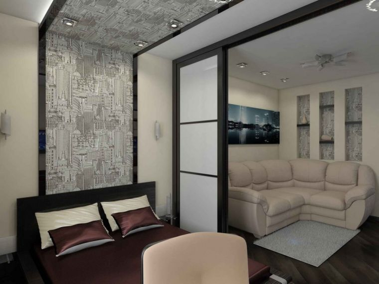 Зонирование гостиной: 110 фото современных идей дизайна и правил распределения места в комнате