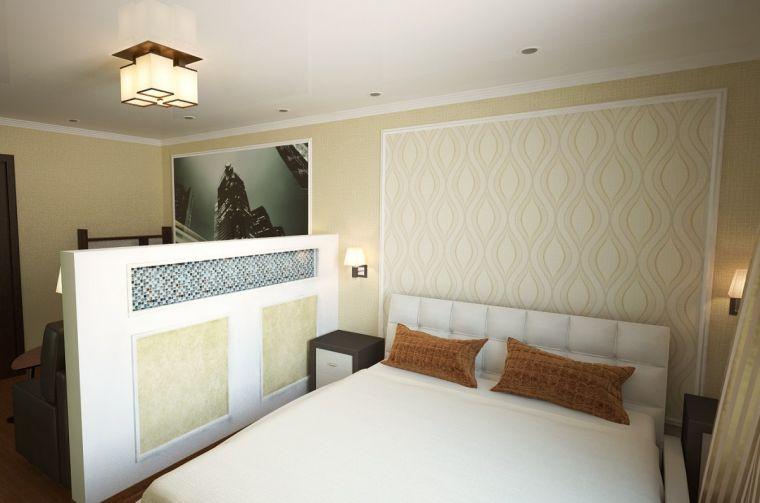 Зонирование спальни: основные способы и идеи распределения места в спальной комнате (120 фото + видео)