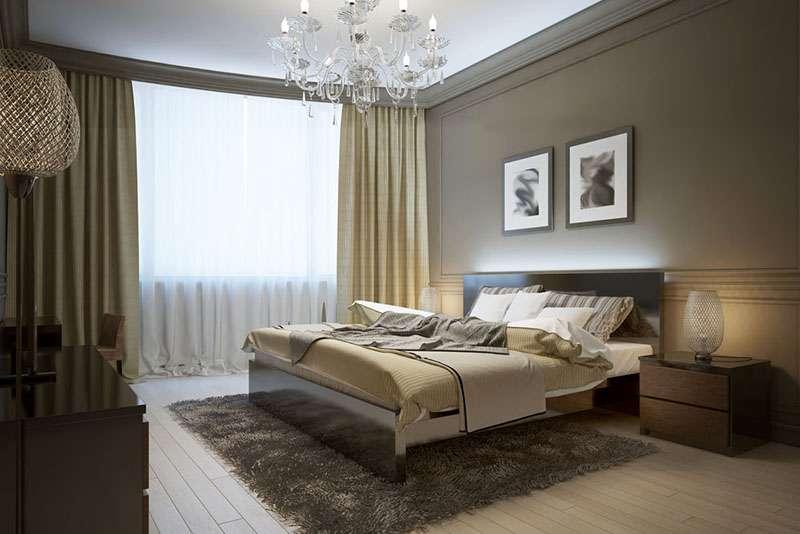 Декор спальни - оригинальные решения и примеры стильного оформления спальной комнаты (100 фото)