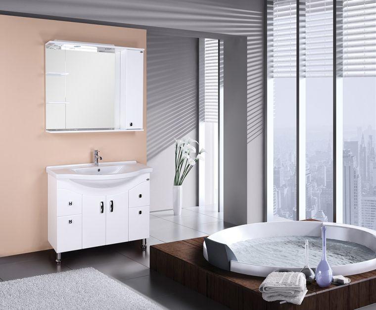 Мебель для ванной - как выбрать красивую дизайнерскую мебель. Стильные решения и лучшие варианты оформления ванной комнаты