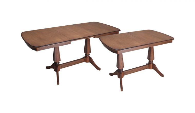 Изготовление раздвижного стола - делаем современные складные обеденные и журнальные столы (110 фото)